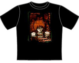Rurouni Kenshin Cut Throat T-shirt LG