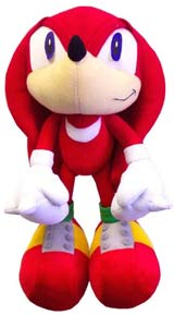 Sonic X Knuckles the Echidna Plush