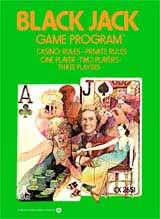 Blackjack by Atari