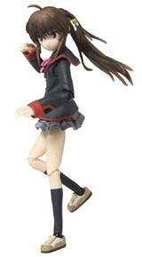 Little Busters! Rin Natsume Mobip PVC Figure
