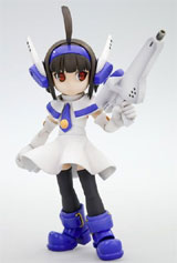 One-Shot Bug Killer Interceptor Doll Combat-San Model Kit