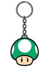 Nintendo 1-Up Green Mushroom Keychain
