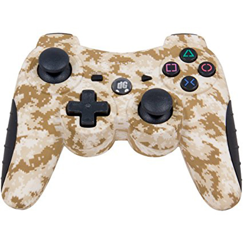 PS3 Shadow 6 Camouflage Wireless Controller