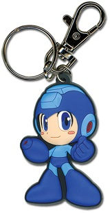 Mega Man Powered Up Mega Man Keychain