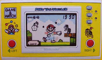Game & Watch New Wide Screen Series: Mario the Juggler