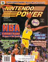 Nintendo Power Volume 107 Kobe Bryant's NBA Courtside