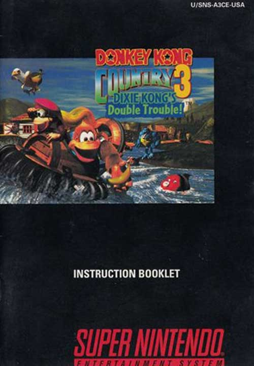 Donkey Kong Country 3 (Instruction Manual)