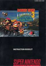 Donkey Kong Country 3 (Instruction Manual)