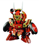 SD Build Fighters Red Warrior Kurenai Musha Gundam Build Model Kit