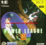 Power League III PC Engine
