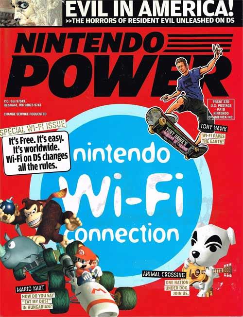 Nintendo Power Volume 199 Nintendo Wifi Connection