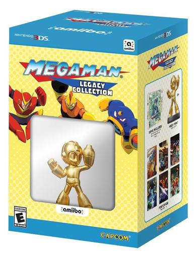 Mega Man Legacy Collection Collector's Edition