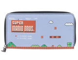 Super Mario Large Zip Around Wallet