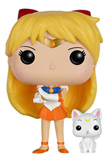 Pop Animation Sailor Moon: Sailor Venus and Artemis Vinyl Figure