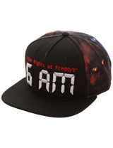 Five Nights at Freddy's 6AM Snapback
