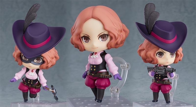 Persona 5 Haru Okumura Phantom Thief Nendoroid additional poses