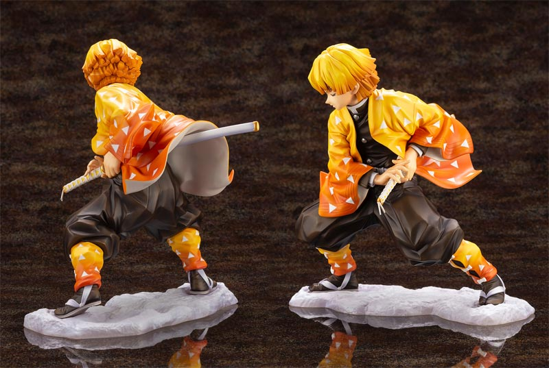 Demon Slayer Zenitsu Agastuma ArtFX J Statue additional angles