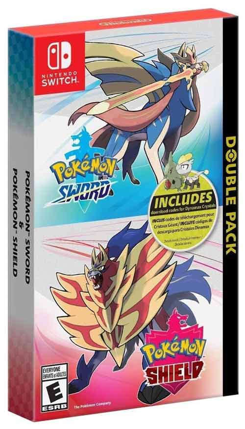 Pokemon Sword & Pokemon Shield Double Pack