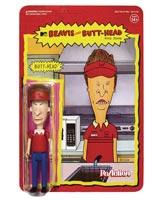 Beavis & Butthead Burger World Butthead ReAction Figure