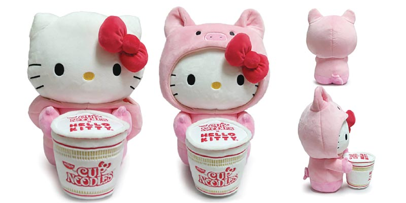 Hello Kitty Cup Noodle Pork Plush extra img