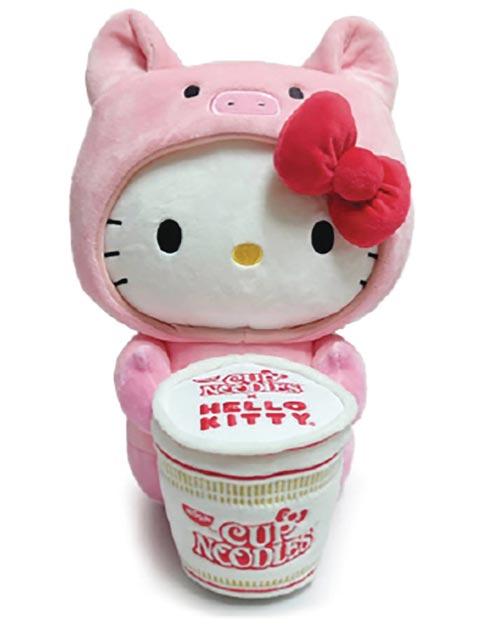 Hello Kitty x Nissin Cup Noodle Pork Ramen 16 Inch Plush
