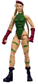 Street Fighter 15th Anniversary Series 2 Cammy Action Figure