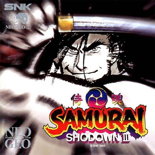 Samurai Shodown 3: Blades of Blood Neo Geo CD