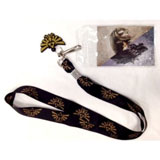 Legend Of Zelda Twilight Princess Black Lanyard