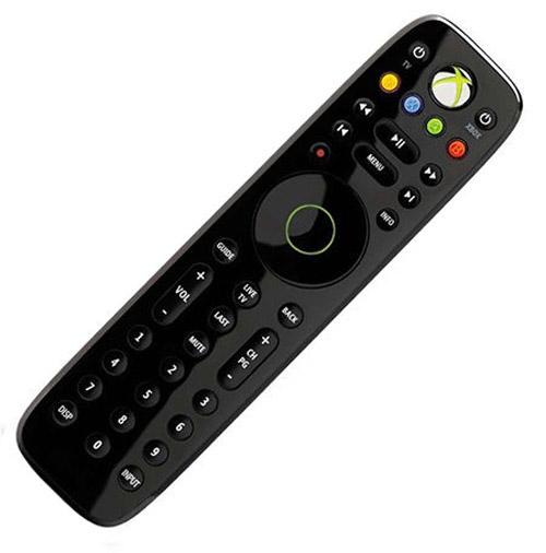 Xbox 360 Media Remote Microsoft Black