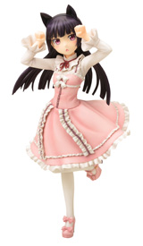 Ore no Imouto Ga Konnani Kawaii Wake Ga Nai Kuroneko Sweet Lolita Ani-Statue