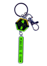 Evangelion Eva 01 Insignia Metal Keychain