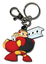 Mega Man Powered Up Gutsman Keychain