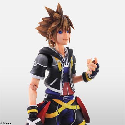 Kingdom Hearts II Play Arts Kai: Sora Action Figure