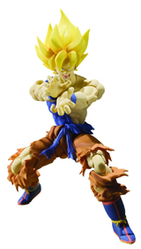 Dragon Ball Z Saiyan Son Goku S.H. Figuarts Warrior Awakening Ver