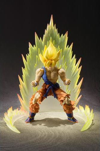 Dragon Ball Z Saiyan Son Goku S.H. Figuarts Warrior Awakening Version Super Saiyan