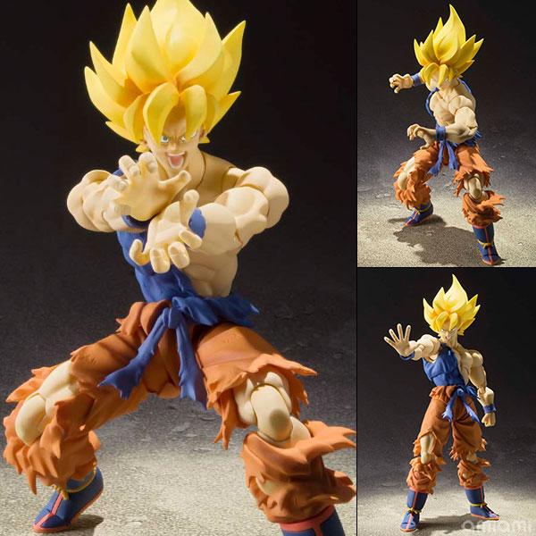 Dragon Ball Z Saiyan Son Goku S.H. Figuarts Warrior Awakening Version