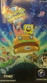 Spongebob Squarepants: The Movie (Instruction Manual)