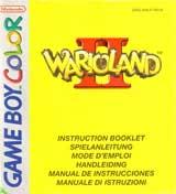 Wario Land II (Game Boy Color Ver.) (Instruction Manaual)