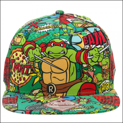 Teenage Mutant Ninja Turtles All Over Print Sublimated Snapback