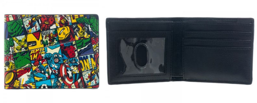 Marvel Comic All Around Bi-Fold Wallet