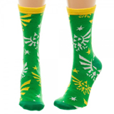Legend of Zelda Hylian Logo Jrs Crew Socks