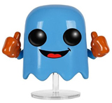 Pop Games Pac-Man Inky Vinyl Figure