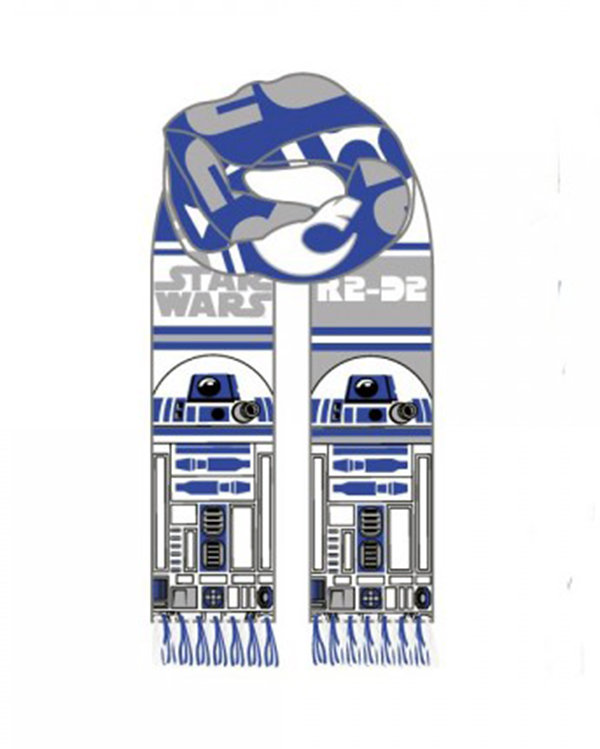Star Wars R2D2 Knit Scarf