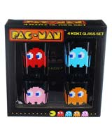 Pac-Man Ghosts Square Shot Glass 4 Pack