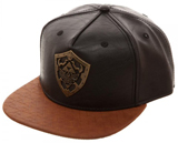 Legend of Zelda Metal Shield PU Leather Snapback