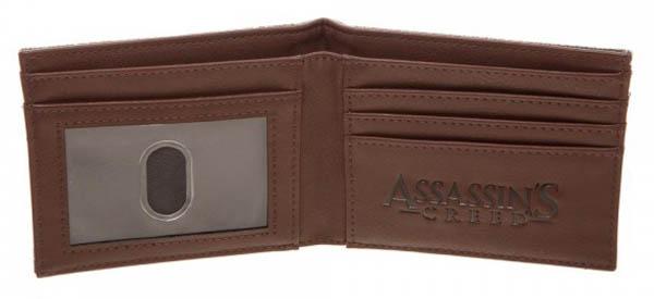 Assassins Creed Suit Up Bi Fold Wallet Open