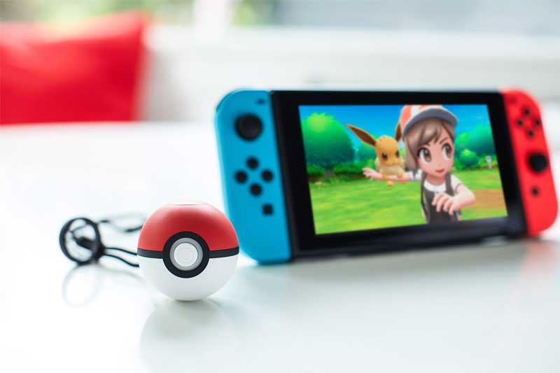 Poke Ball Plus is compatible with Let's Go Pikachu and Let's Go Eevee for Nintendo Switch
