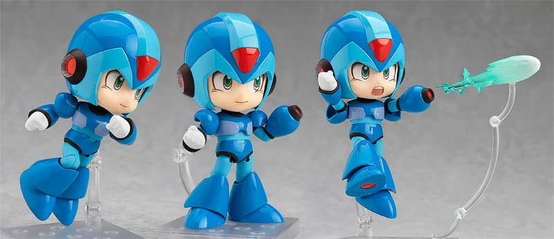 Mega Man X Nendoroid additional poses