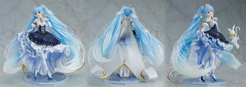 Character Vocal Series 01 Hatsune Miku Snow Princess PVC Figure additional angles