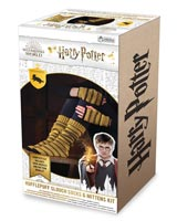 Harry Potter: Hufflepuff Fingerless Mittens & Socks Knit Kit